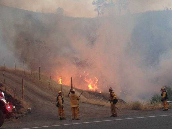 More than 3,000 firefighters were called on to battle the Lake County wildfire, which forced thousands to evacuate their homes. (Aug. 3, 2015)