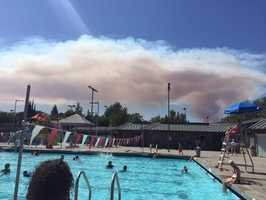 The Wragg Fire broke out July 22 off Highway 128 near Lake Berryessa.
