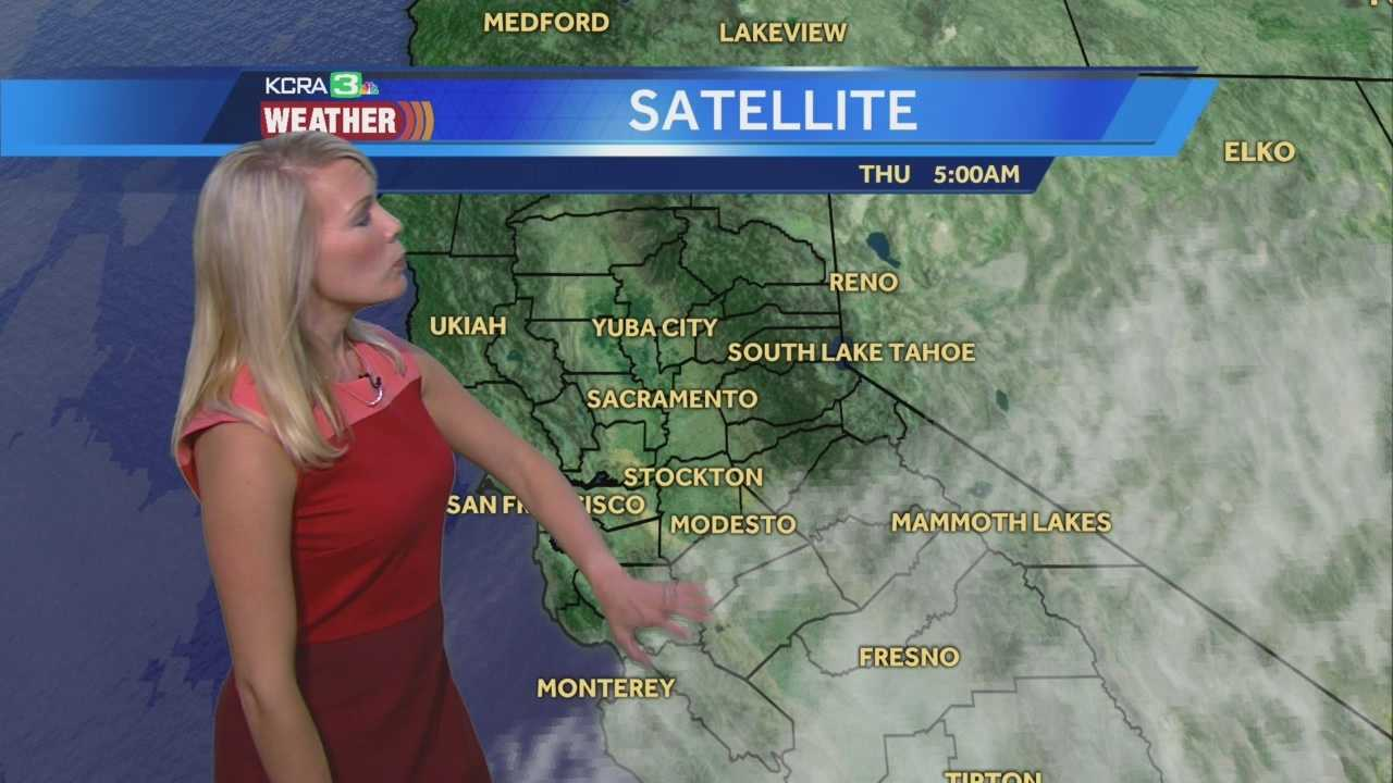 Changes rolling in today. Tamara says expect increasing clouds and tells us when showers may develop.