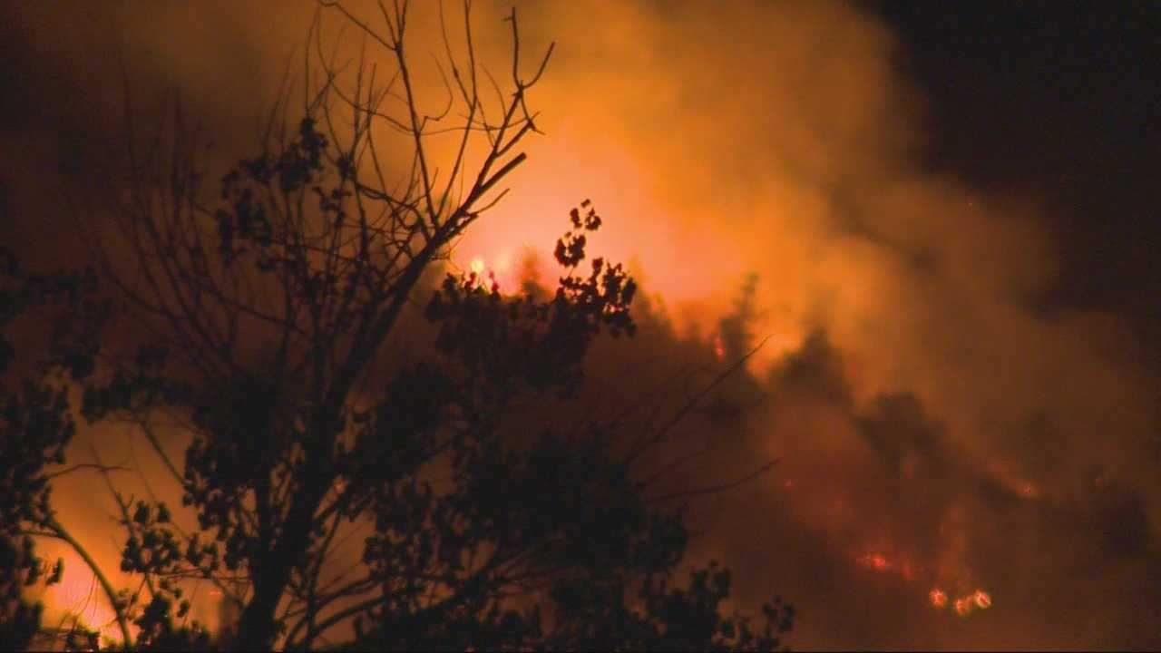 A strike team consisting of a number of local fire crews are on their way north to help combat lightning fires in Humboldt County. KCRA's Tom Miller met one firefighter we just returned after spending several days on the Rocky fire who's already back on the job in Sacramento County.