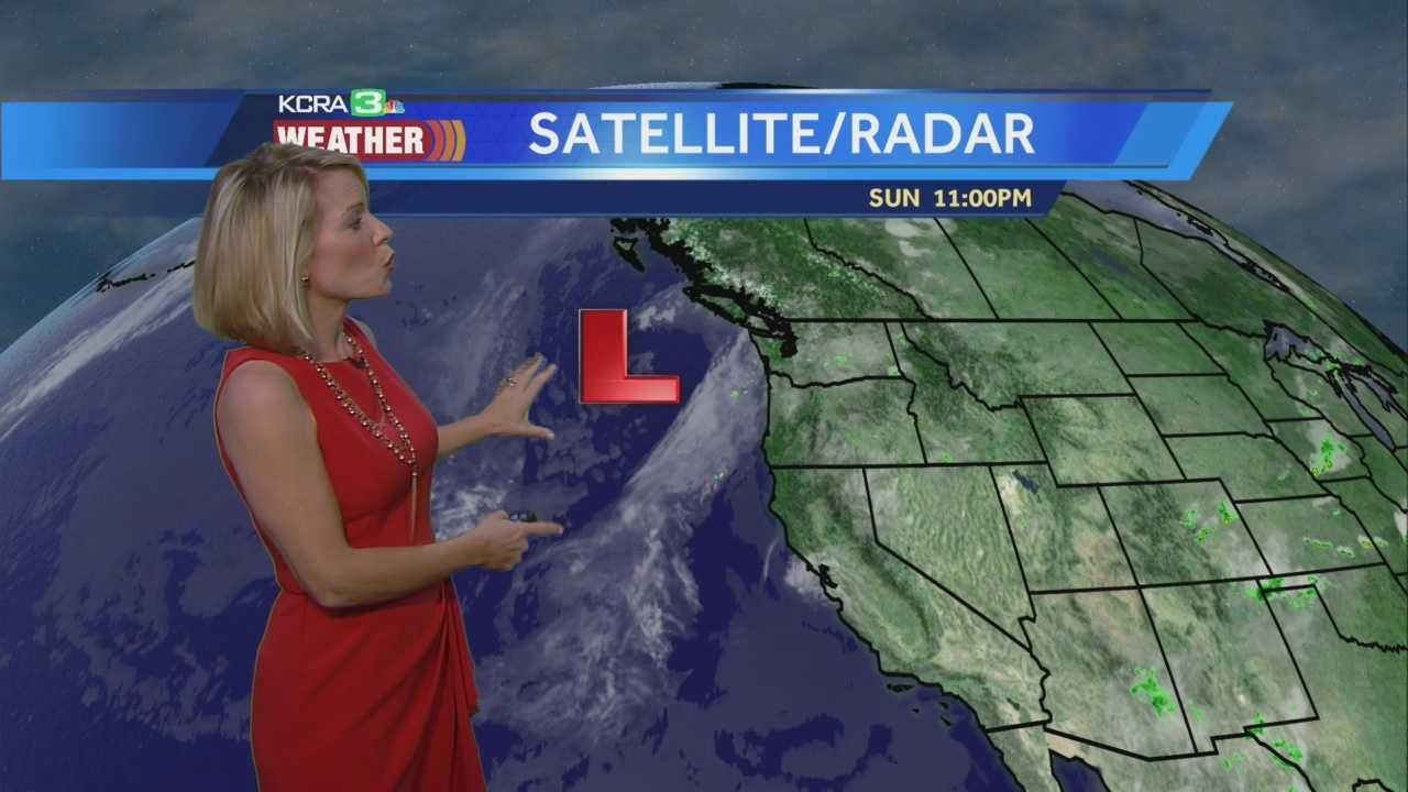 KCRA 3 Meteorologist Eileen Javora shows how much our temps will drop this week!