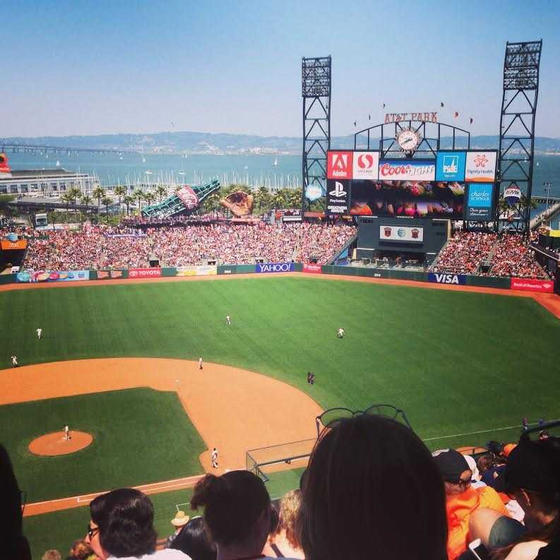 4. AT&T Park -- San Francisco Giants fans love taking in a game at this picturesque ballpark, but even non-sports fans can appreciate the bay views.