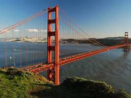 11. Golden Gate Bridge -- This one is kind of obvious, but we couldn't complete this list without San Francisco's most well-known landmark.