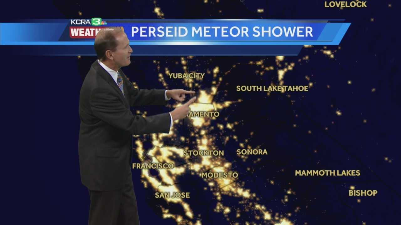 This week will be one of the best times to watch the Perseid meteor shower. Mark Finan explains where to get the best views.