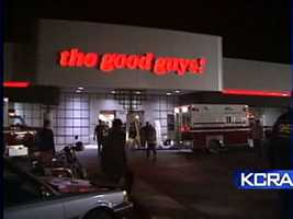 On April 4, 1991, four armed men took 50 people hostage at a Good Guys! electronics store behind the Florin Mall in south Sacramento after a robbery at a different location didn't go as planned.