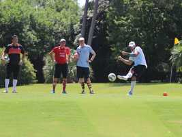 What: FootGolf Cup of the Nations: AFGL Pro-Am TourWhere: Haggin Oaks Golf ComplexWhen: Fri 2pm-6pm&#x3B; Sat 10am-6pm&#x3B; Sun 10am-4pmClick here for more information on this event.