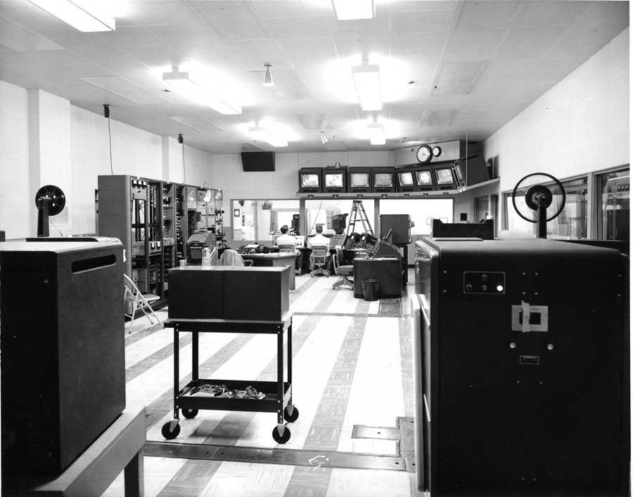 A look at the KCRA 3 control room in 1959.