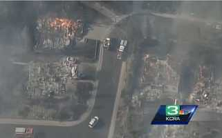 A fire in Auburn, named the 49er Fire, burned 275 acres and destroyed 60 homes and other buildings in Aug. 2009.