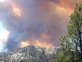 On the afternoon of June 24, 2007, a wind-driven fire started along Lake Tahoe's south shore, near the town of Meyers. The Angora Fire scorched almost five square miles and destroyed more than 250 homes as it swept through the area.