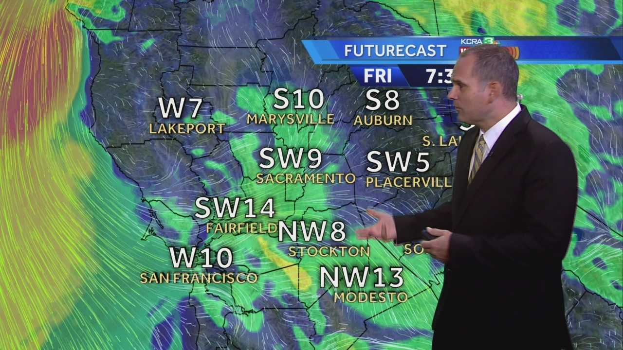 KCRA 3 Weather meteorologist Dirk Verdoorn looks at the effects of the Delta Breeze in your forecast.