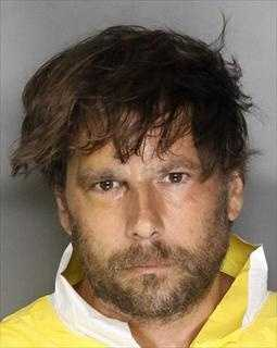 Scott Boyer, 41, was arrested on suspicion of killing an elderly woman in Natomas, Sacramento police said.