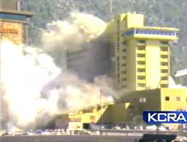 The bombing of the Harvey's Resort Hotel Casino happened on Aug. 26-27, 1980 when millionaire John Birges planted a bomb containing 1,000 pounds of dynamite at the Stateline, Nevada resort. Birges claimed he lost $750,000 gambling at the casino and was trying to extort $3 million.