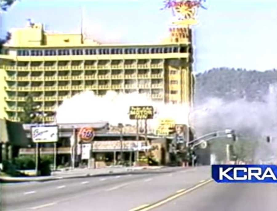However, after technicians tried to disarm the bomb, it exploded and destroyed much of the building and damaged nearby Harrah's Casino. No one was injured. At the time, experts called the bomb one of the most complex explosive they had ever seen.