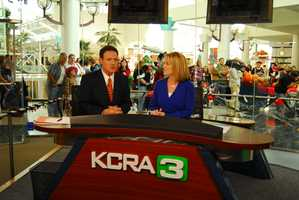 "2004: KCRA launches ""The KCRA 3 Experience"" and begins noon broadcasts from Arden Fair Mall in Sacramento."