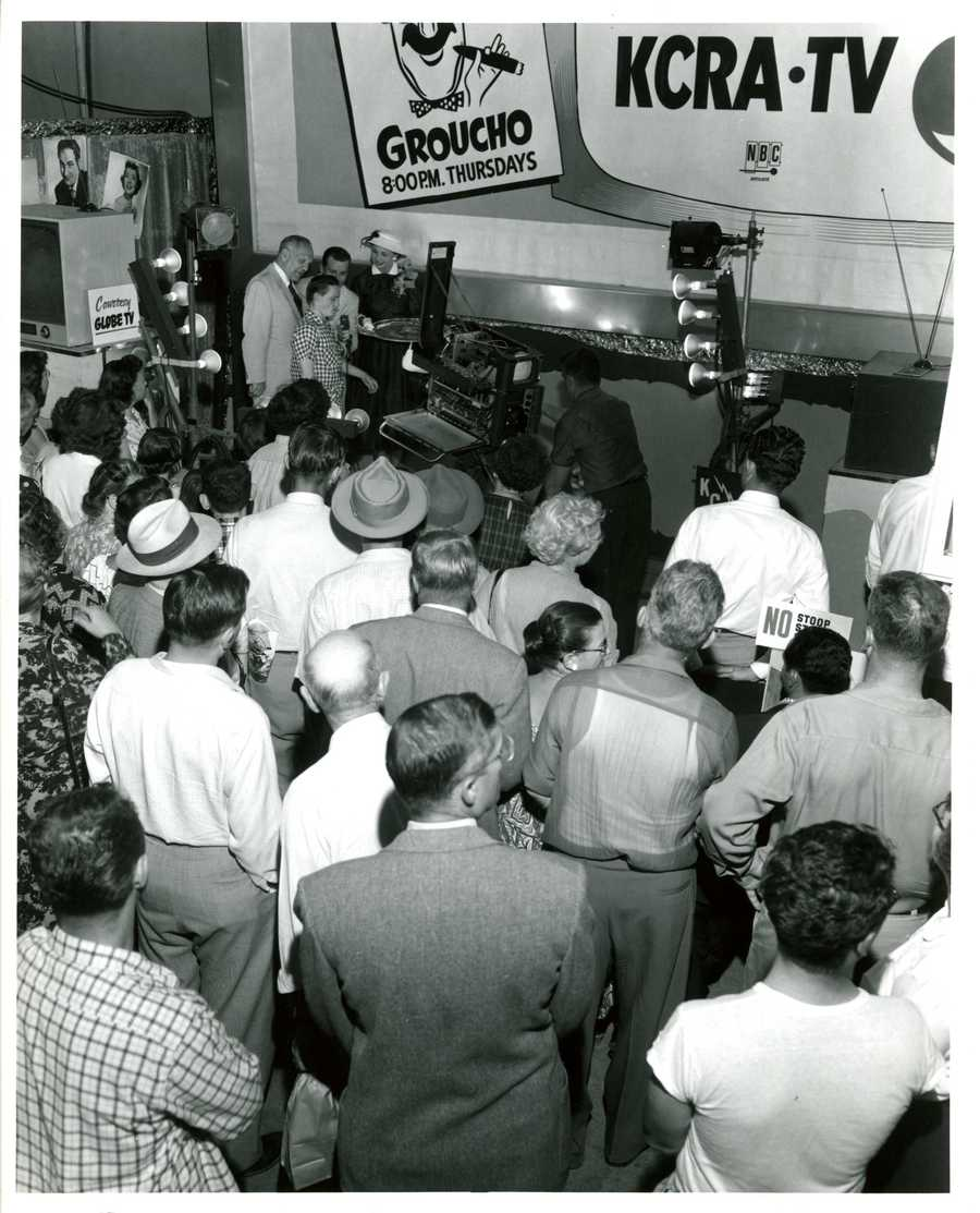 At 2 p.m. on September 5, 1955, KCRA 3 began broadcasting as a NBC affiliate, live from the California State Fair with color transmission and videotape capabilities.