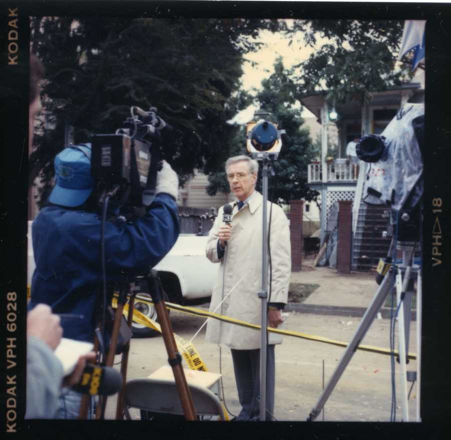"""1975: In a step toward improving technology to offer the best coverage in the Sacramento region, KCRA 3 introduces mini-cameras and """"live"""" news reporting."""