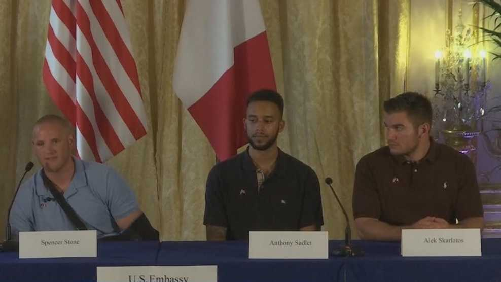 Spencer Stone, Anthony Sadler, Alek Skarlatos