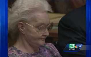 Dorthea Puente ran a boarding house during the 1980s in Sacramento for elderly and mentally disabled people where she would cash her tenants' social security checks. She was accused in the death of nine people in 1988, but was given two life sentences for the murder of only three. Puente was kept at the Central California Women's Facility in Chowchilla, Calif., where she died in 2011 of natural causes.
