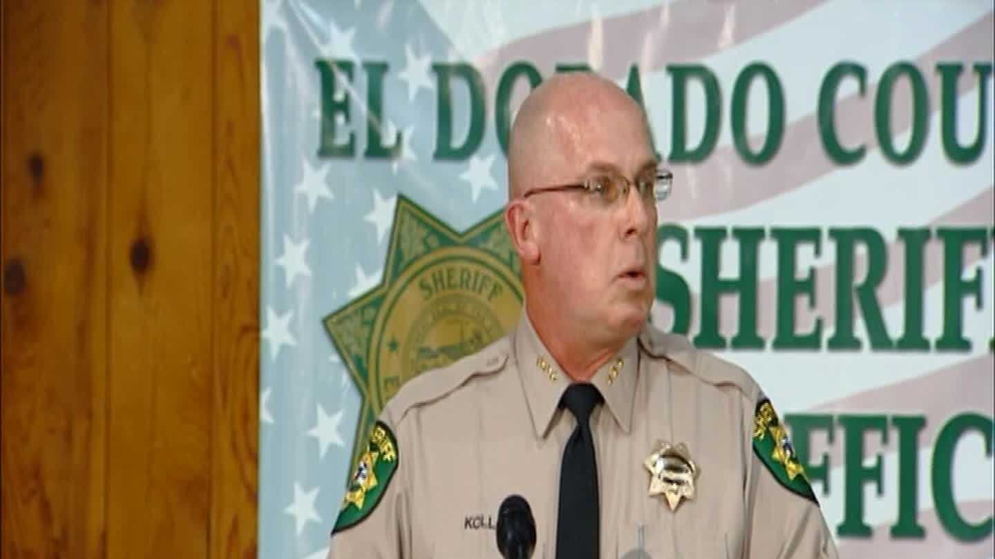 The press conference where the El Dorado County Sheriff's Department announces Jaycee Dugard had been found
