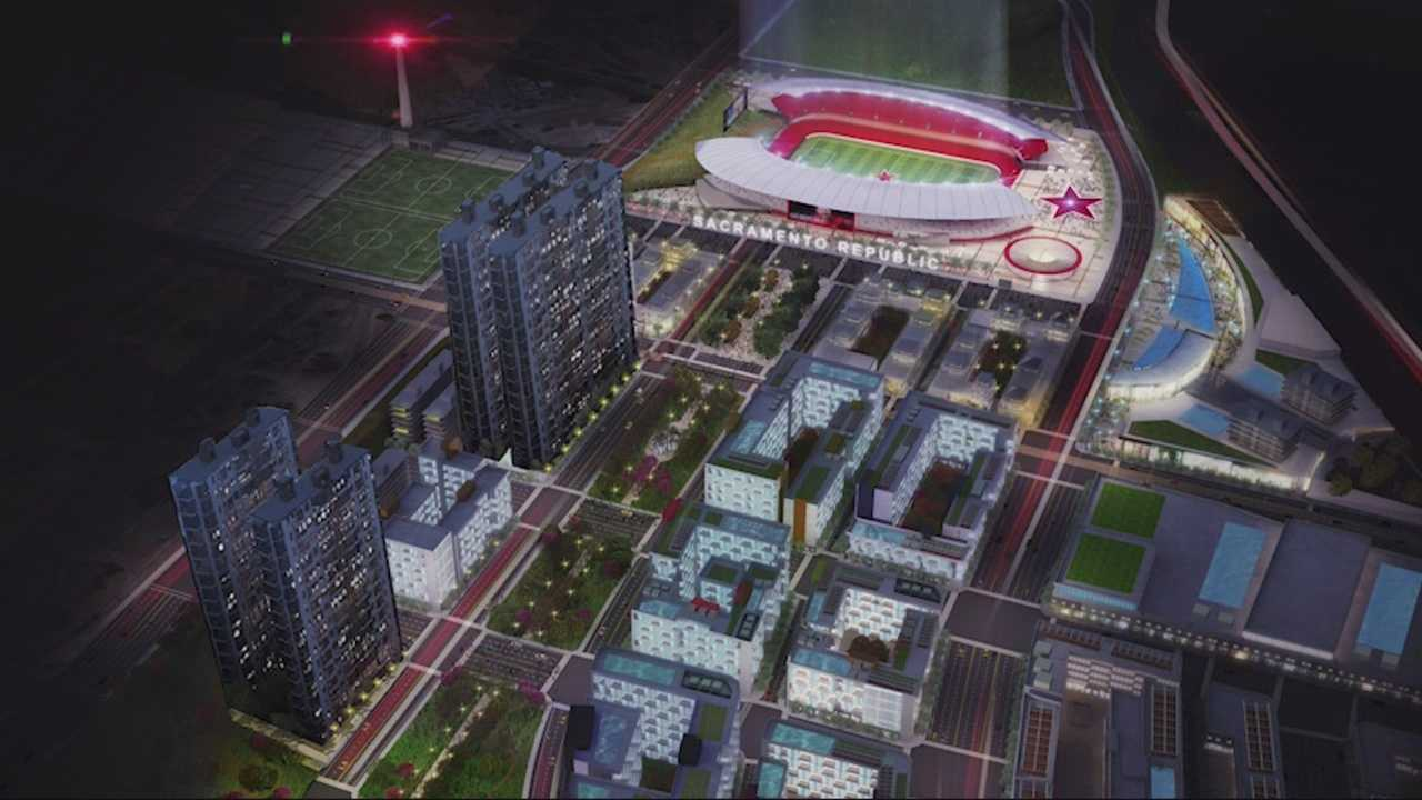 As Sacramento continues its push for a major league soccer team, a picture of what a future stadium could look like is now coming into focus.