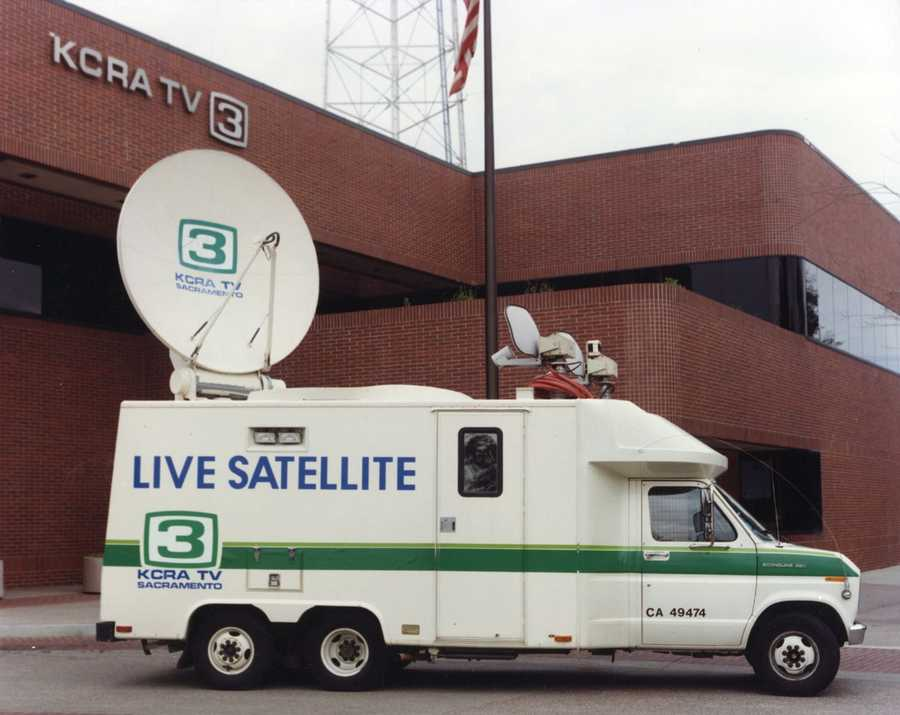 A look at KCRA's first satellite truck. This photo was taken in 1986.