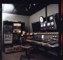 A look at a KCRA audio control board from 1989.