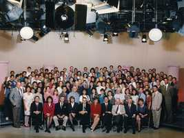 The KCRA staff photo from 1994.