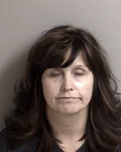 Angela Zimmerman was booked on a charge of loitering for the purpose of narcotics activity, deputies said.