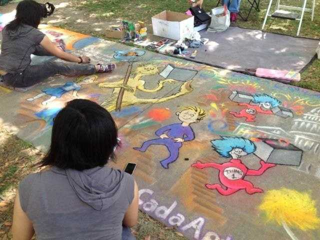 What: Chalk It Up FestivalWhere: Fremont ParkWhen: Sat-Mon 10am-6pmClick here for more information about this event.
