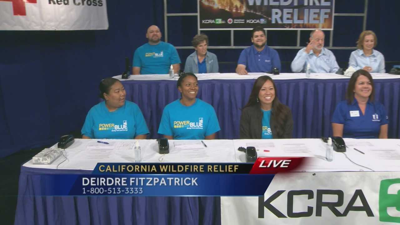 KCRA, in partnership with the American Red Cross, is holding a telethon to benefit those affected by the massive Northern California wildfires, but some may be wondering what your donations are going to be used for. Lilly Wyatt, of Red Cross, explains.