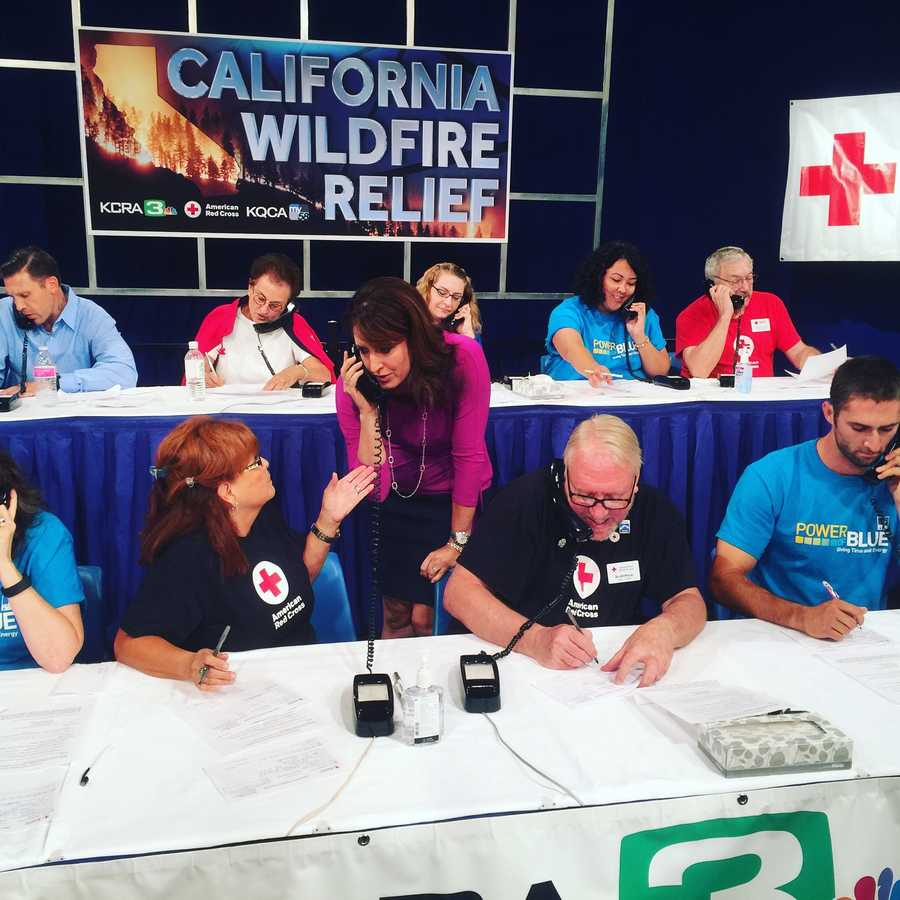 Your donations during KCRA's California Wildfire Relief telethon with the Red Cross raised more than $1.3 million for wildfire victims.