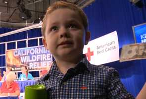 Xander is about to turn 4 and he, like hundreds of other Northern Californians, decided to make a difference. He gave his birthday money to the fire relief effort. Your donations during KCRA's California Wildfire Relief telethon with the Red Cross raised more than $1.3 million for wildfire victims.
