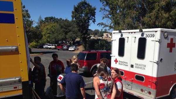 Butte Fire victims get help from American Red Cross, but many are uninsured.
