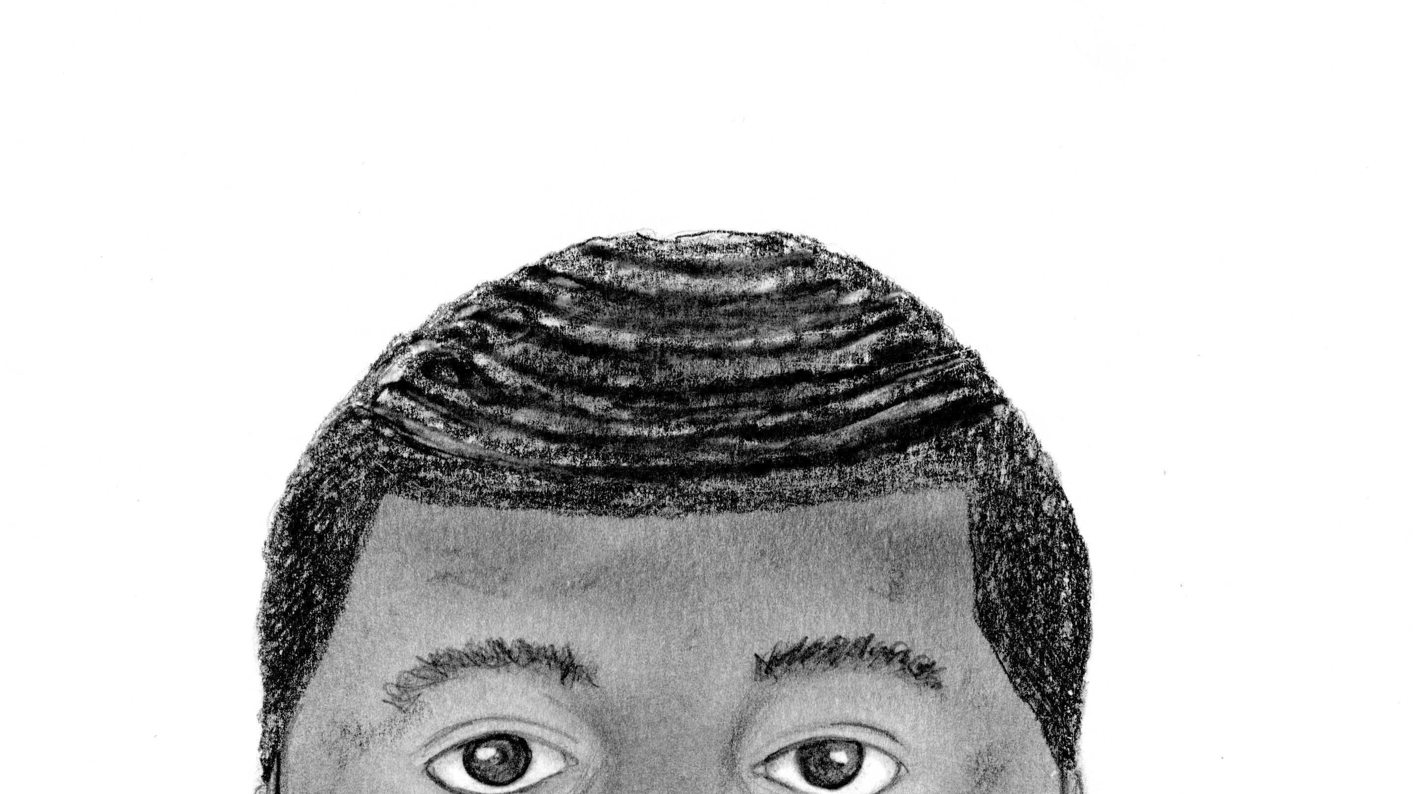 The Sacramento County Sheriff's Department released a sketch of an armed man suspected of sexually assaulting two women in the North Highlands area on Sept. 22, 2015.