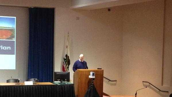 Gov. Jerry Brown speaks in Sacramento on climate change and its impact on California. (Oct. 1, 2015)
