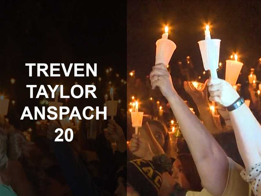 Treven Taylor Anspach, 20