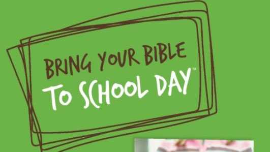 "This flyer promoting ""Bring your Bible to School Day"" was sent to parents in the Folsom Cordova Unified School District."