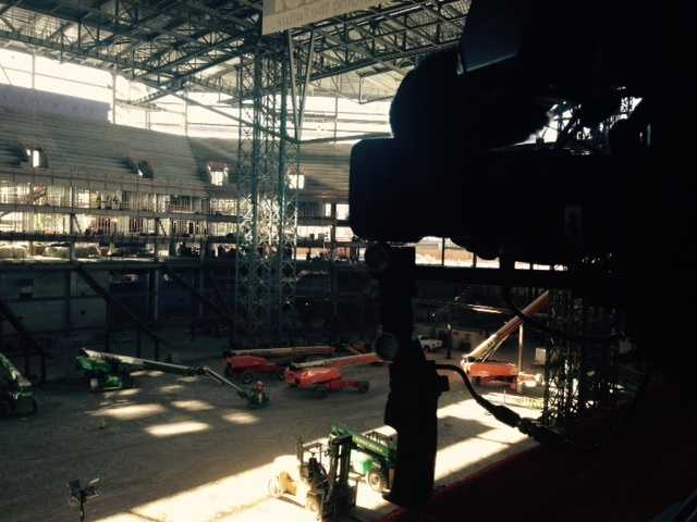 The new arena is expected to open in the fall of 2016. (Oct. 16, 2015)