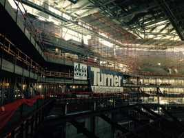 Get an inside look at the construction of the Golden 1 Center. (Oct. 16, 2015)
