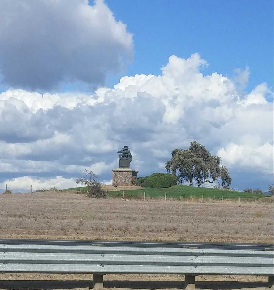 Clouds in Napa. Photo shared by Aileen Graves on Sunday, Oct. 18, 2015.