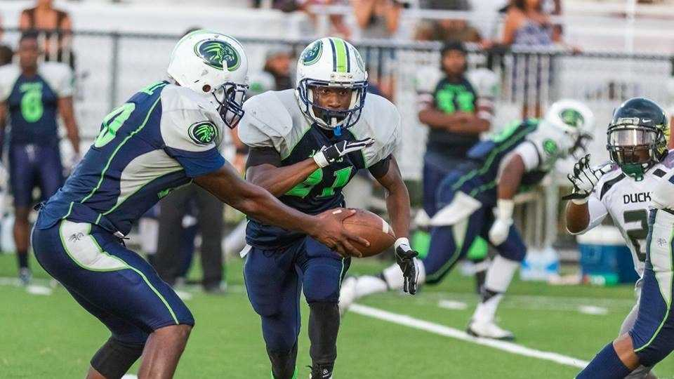 Cedric Purify, 26, playing for the Central Valley Hurricanes. He was shot and killed on Sunday, Oct. 18, 2015 outside of a Stockton bar.