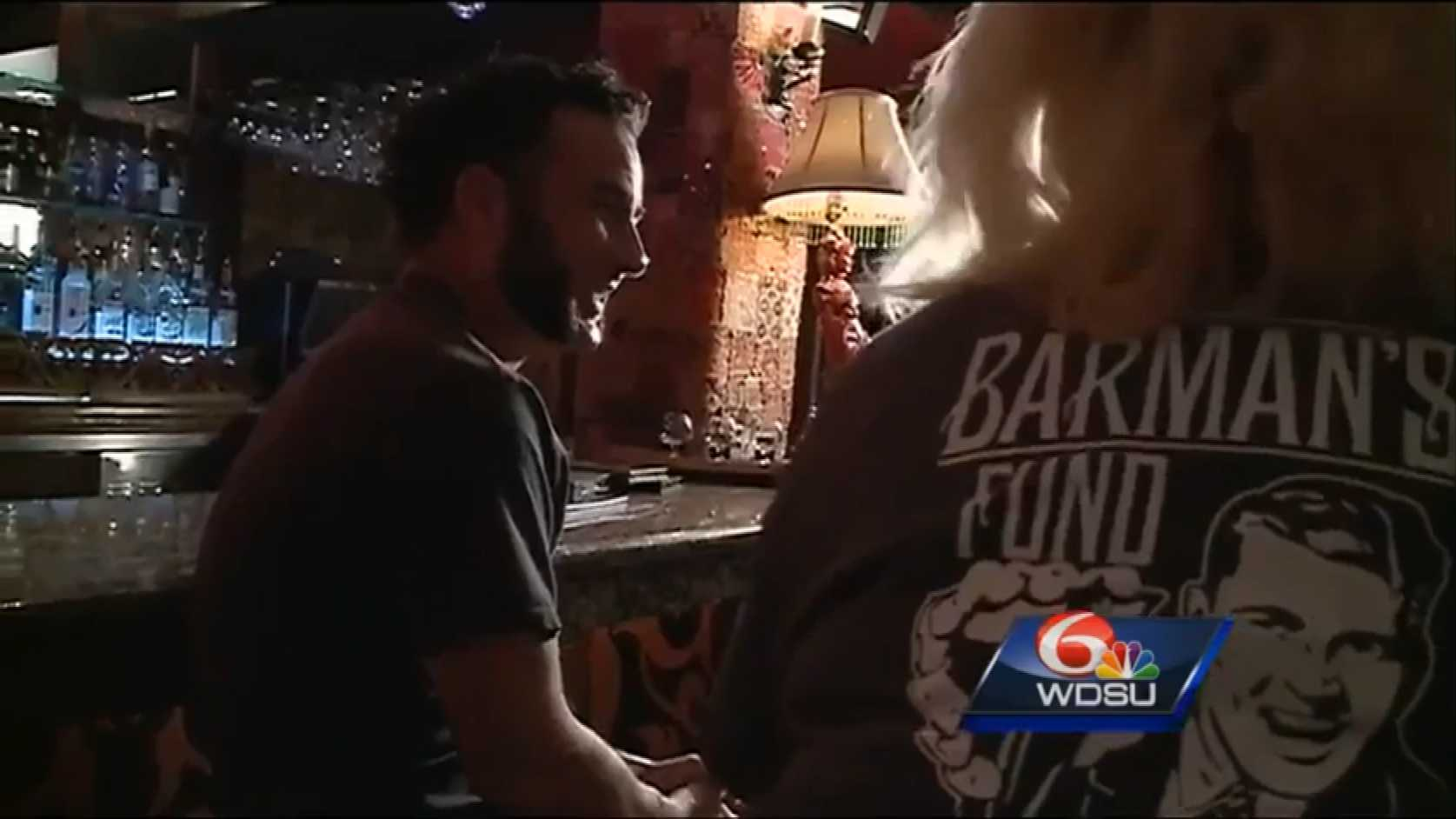 The Barman's Fund in New Orleans works with about 150 bartenders to give back to the community.