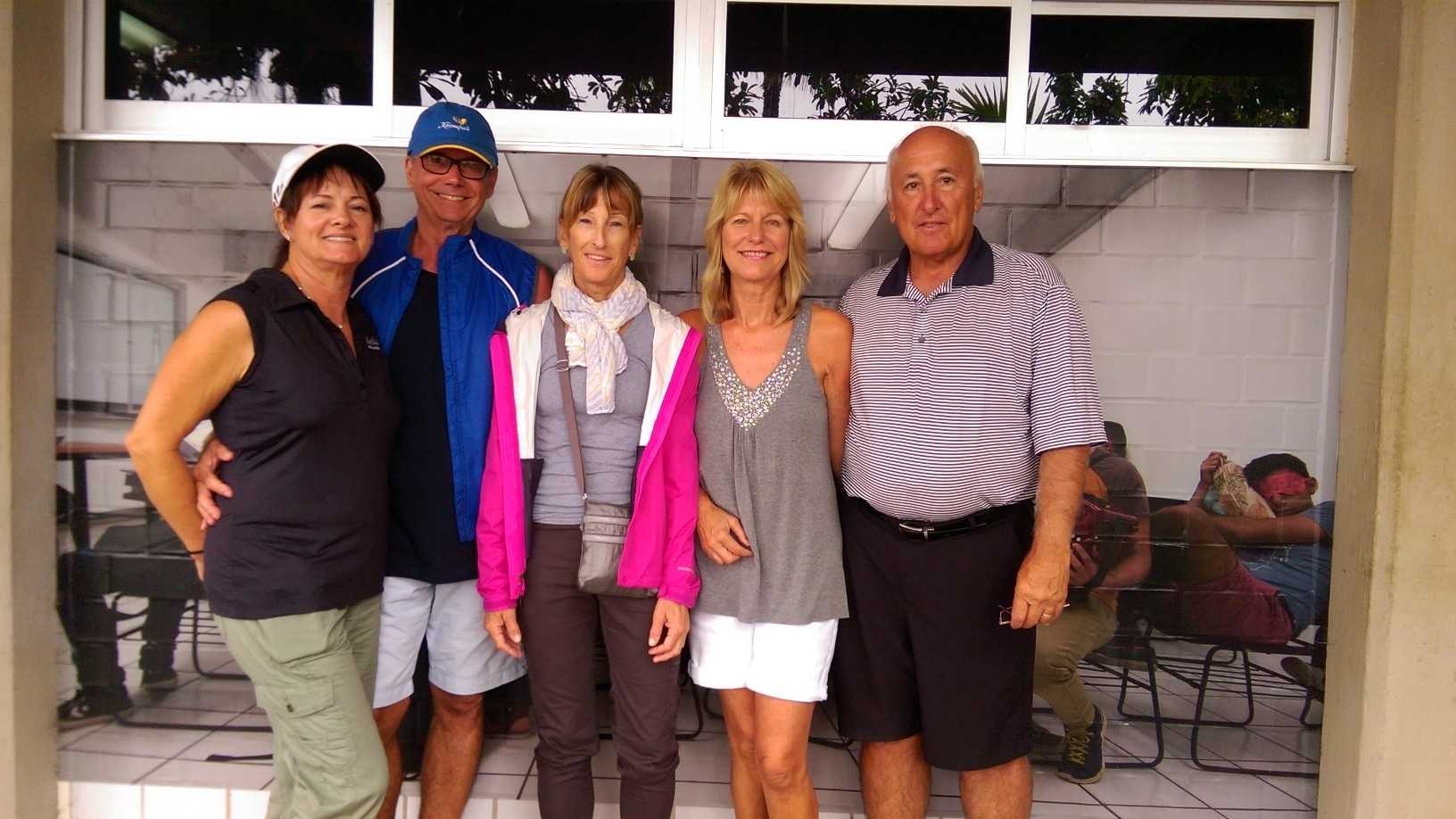 Diane Kimball, Steve Kimball, Linda Smith, Jo Ann Baca and Mark Baca are among the Northern California residents currently in Puerto Vallarta, Mexico.