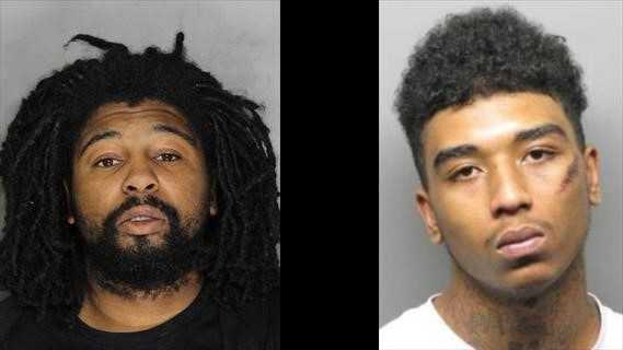(L) John Bunch, 24, was taken into custody on Tuesday, Oct. 27, 2015 in Alameda County in connection to a homicide in a Natomas Home Depot parking lot. (R) Jason Brown, 18, is being sought by police in connection to that homicide.