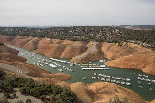 New photos of NorCal lakes paint eerie picture of drought