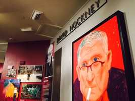 The family of David Hockney, one of the most influential artists of the 20th century, donated some of his unique works of art.