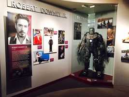"""Eight famous Californians, including Sacramento's Lester Holt, were inducted into the state's Hall of Fame, and each of them (or their families) sent in personal items to be displayed at the California Museum in Sacramento. Some items have historical meaning, while others have been seen by people around the world, like the suit Robert Downey Jr. wore in """"Iron Man"""". Take a tour through the new exhibit."""