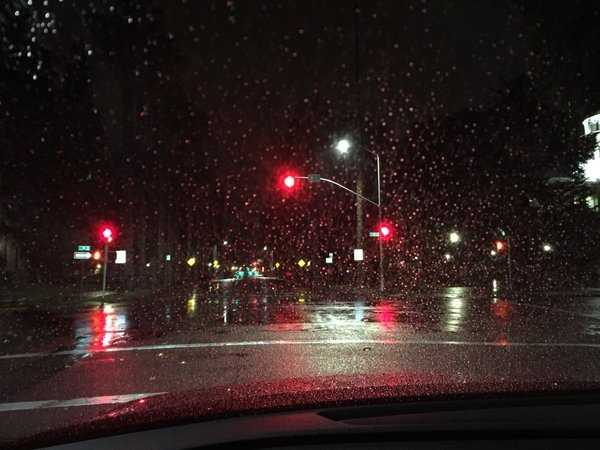 Wet weather was a welcomed sight in Northern California after many months of little precipitation. Check out some images from across the region of Monday's storm.