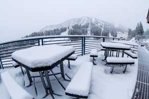 Mt. Rose received several inches of snow on Monday and plans to open for the season Nov. 4. (Nov. 2, 2015)