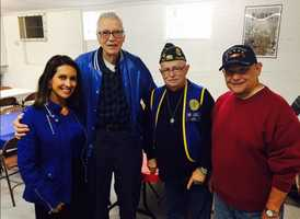 "KCRA's Leticia Ordaz had the privilege of showcasing some local veterans during a pancake breakfast in Roseville. ""A big thank you to veterans in Roseville,"" Ordaz said in a tweet. ""I loved hearing their stories."""